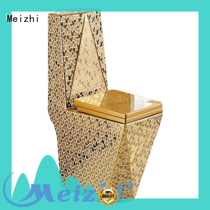 Meizhi self-cleaning one piece comfort height toilet supplier for bathroom