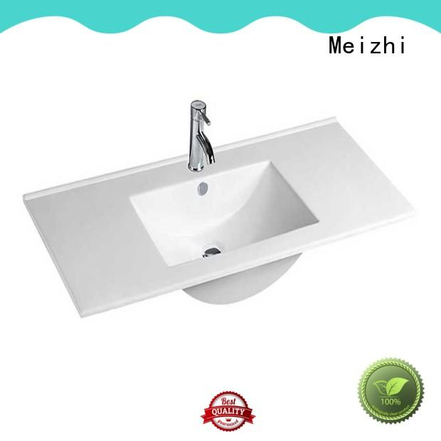 Meizhi rectangular vanity wash basin with good price for home