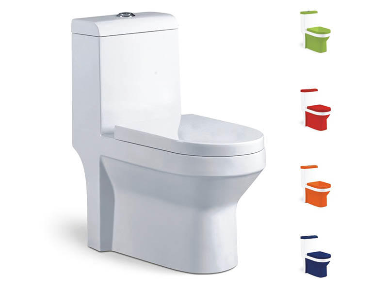 Sanitary ware ceramic one piece toilet bowl