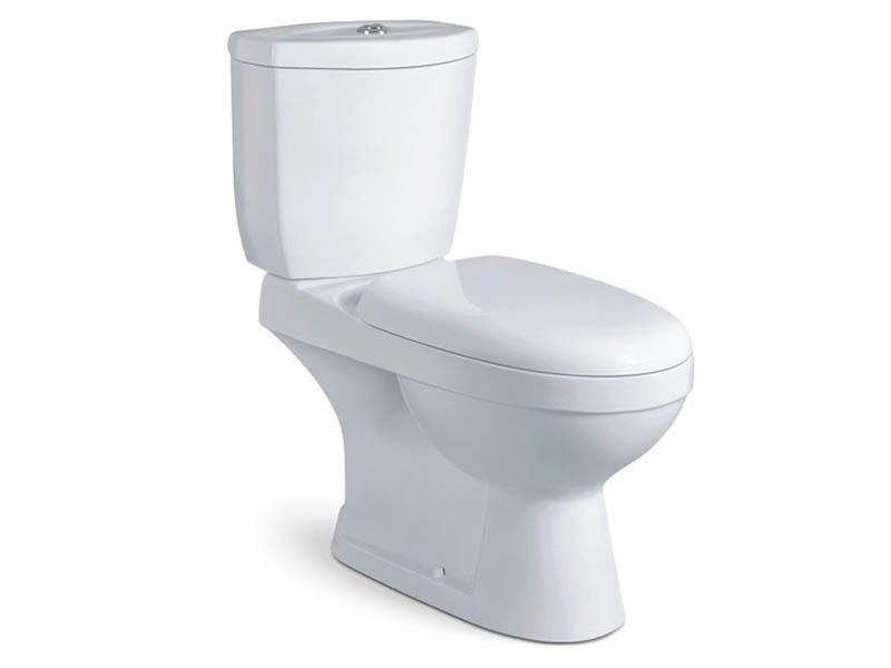 China bathroom two piece ceramic toilet