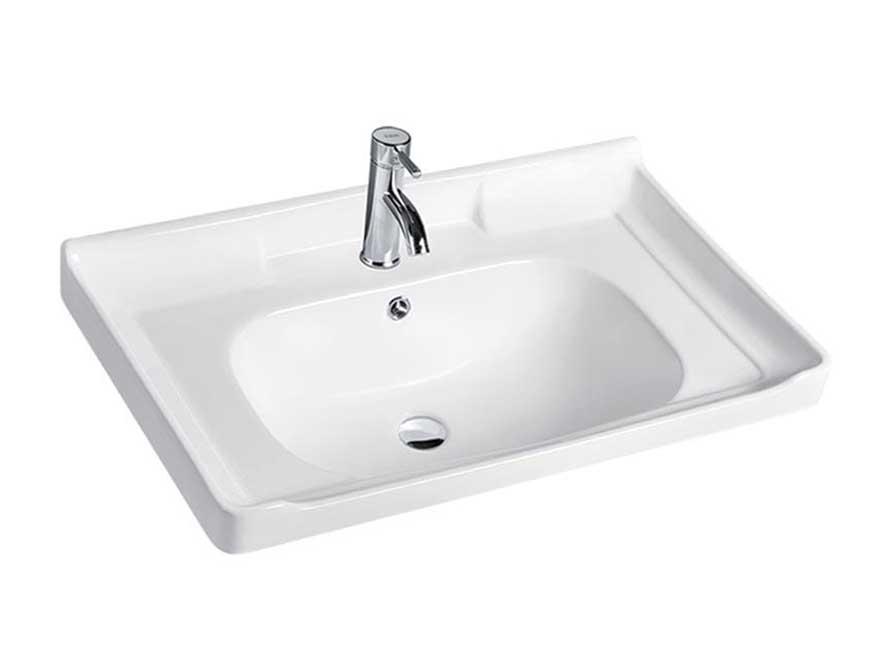 China bathroom ceramic wash hand sink vanity basin for sale