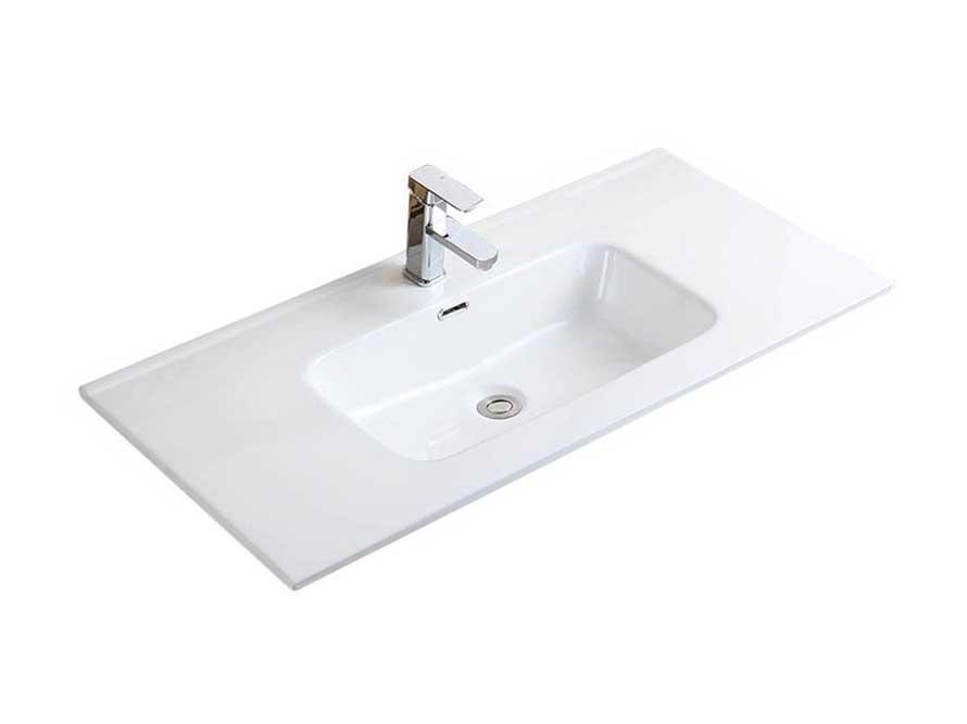 Excellent finish cheap above counter top ceramic bathroom vanity sink