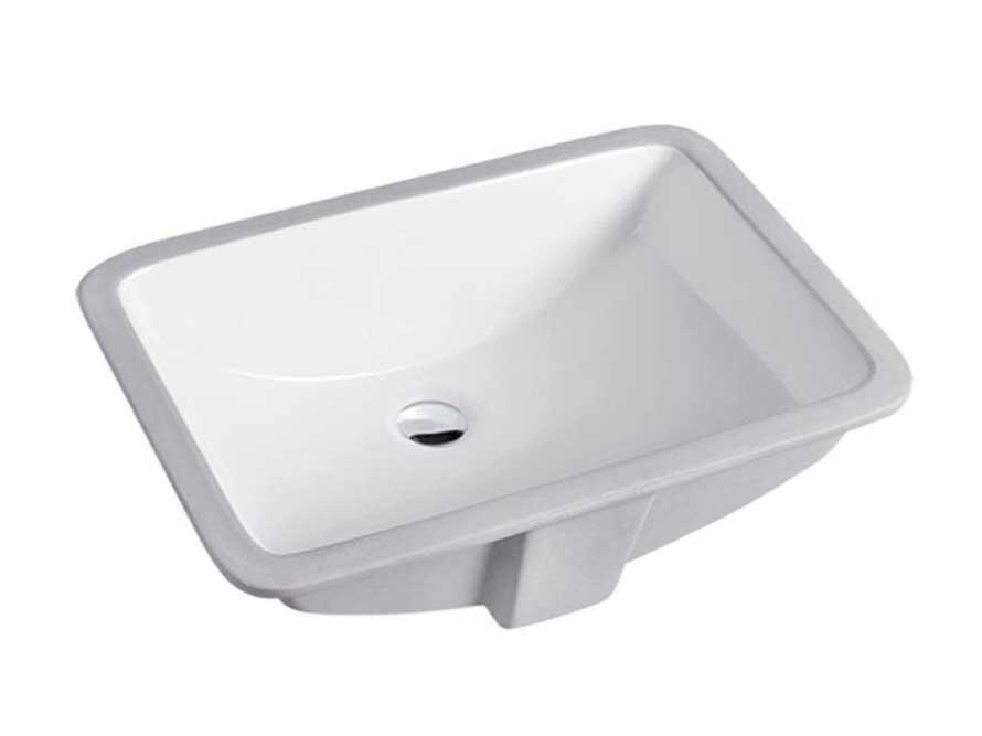 Chaozhou ceramic material lowes undermount bathroom sinks
