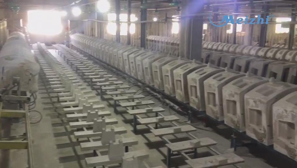 Meizhi ceramics factory toilet production line