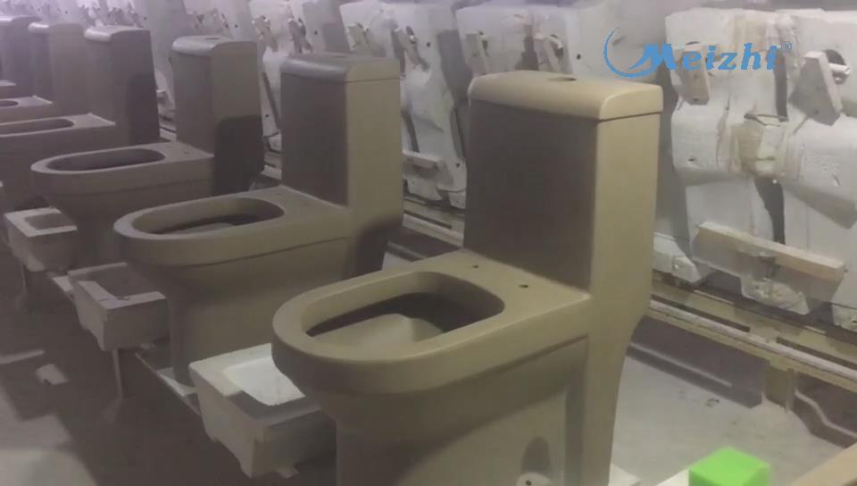 Toilet blank molding