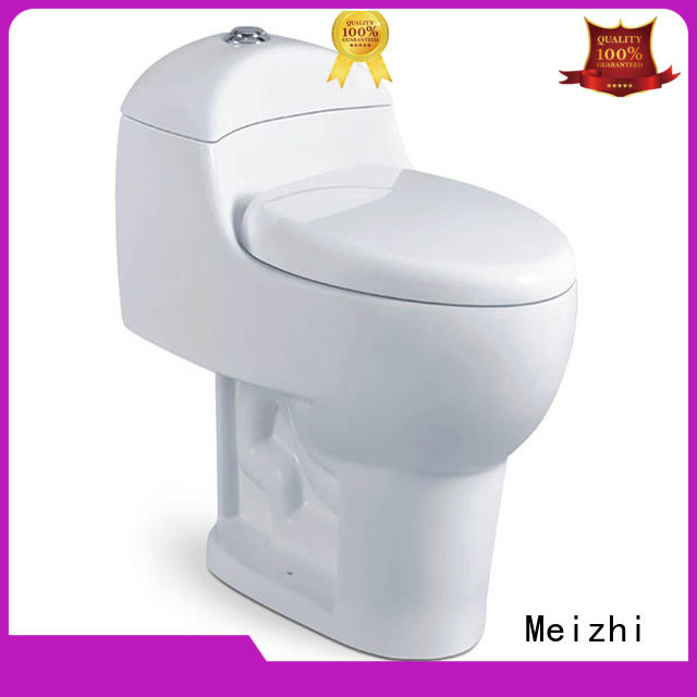 siphonic modern one piece toilet supplier for bathroom