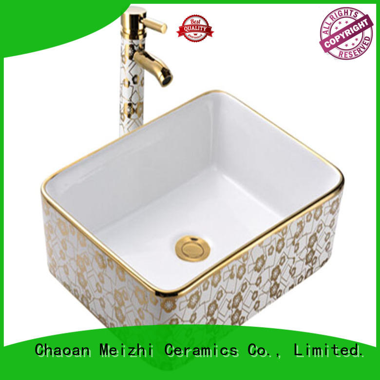 Meizhi fancy round wash basin factory price for washroom