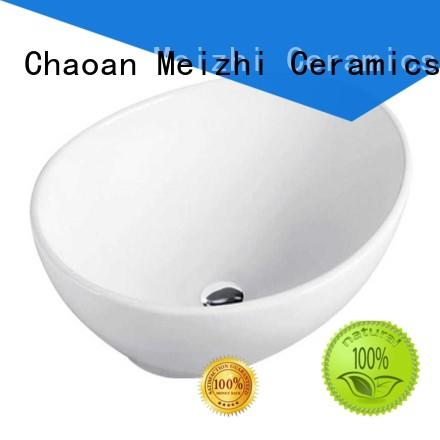 Meizhi ceramic wash basin directly sale for bathroom