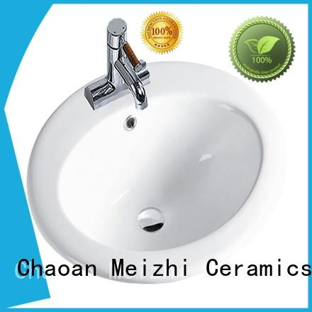Meizhi counter basin supplier for bathroom