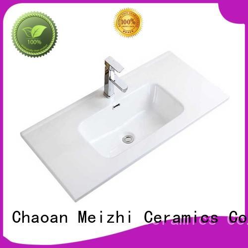 rectangular small wash basin wholesale for hotel