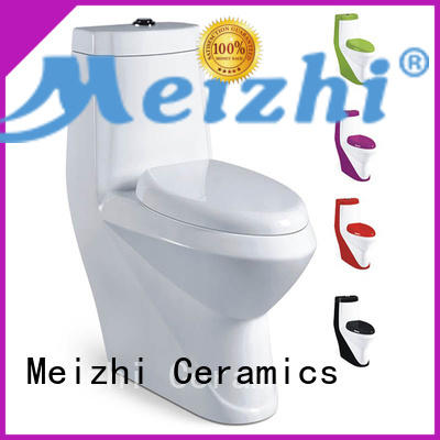 siphonic one piece comfort height toilet with good price for hotel