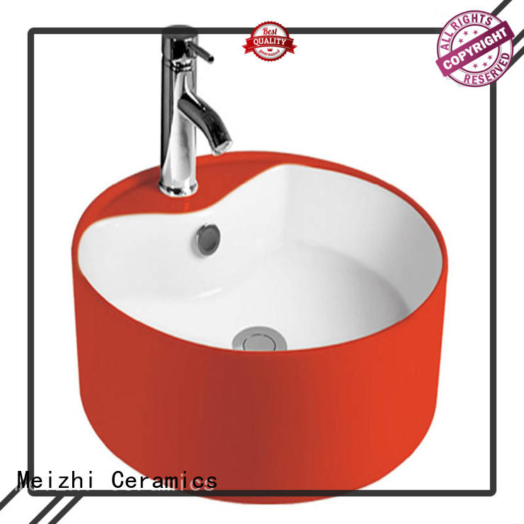 Meizhi elegant toilet wash basin wholesale for hotel