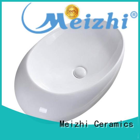 printed stylish wash basin customized for washroom