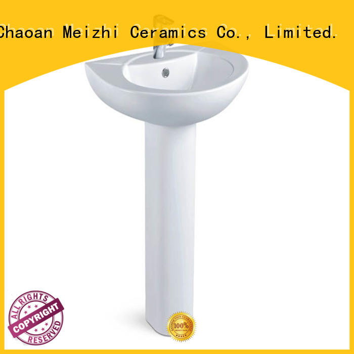 Meizhi basin and pedestal directly sale for home