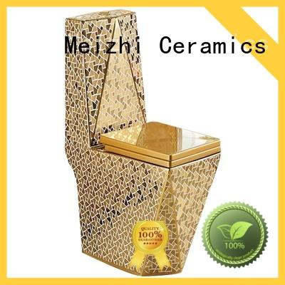 Meizhi square one piece toilet wholesale for home