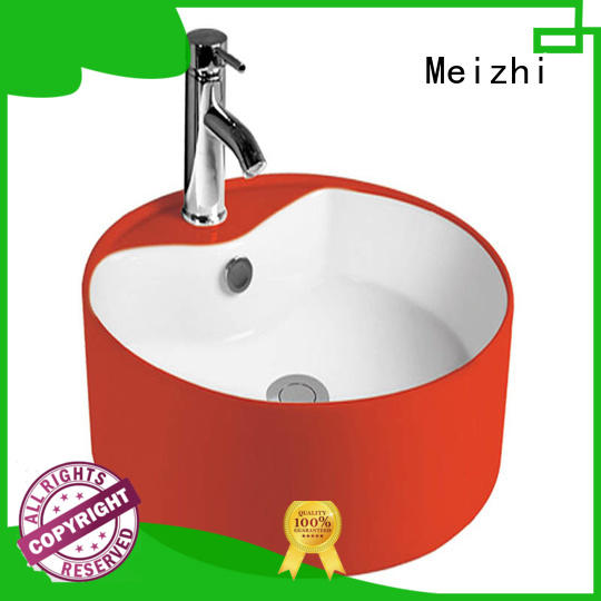 Meizhi stylish wash basin supplier for home