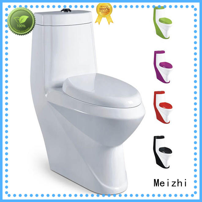 Meizhi siphonic one piece toilet reviews directly sale for hotel