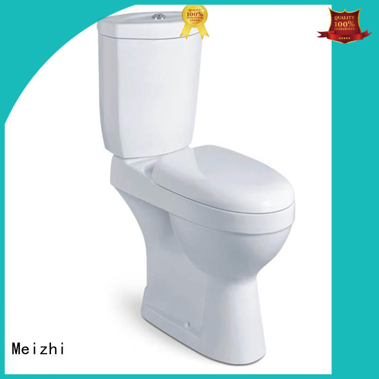 Meizhi comfortable 2 piece toilet with good price for bathroom