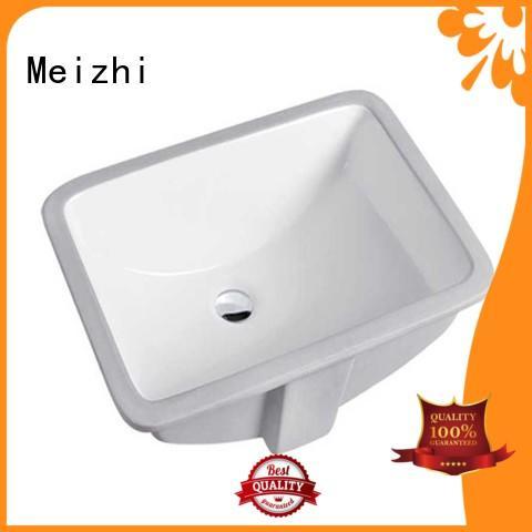 ceramic wash basin counter supplier for hotel