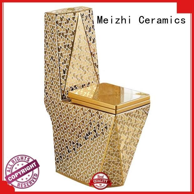 Meizhi new design one piece round toilet manufacturer for bathroom