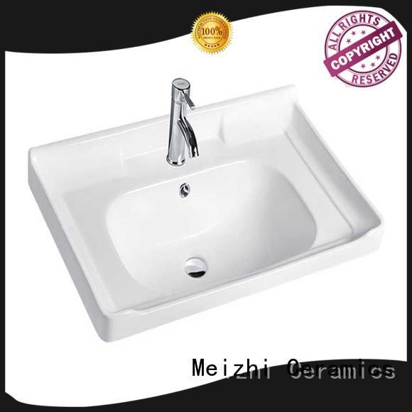 Meizhi high quality wash basin sink manufacturer for home