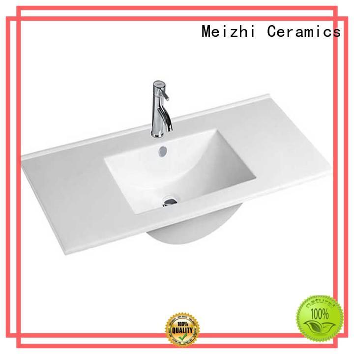Meizhi bathroom basin units with good price for washroom