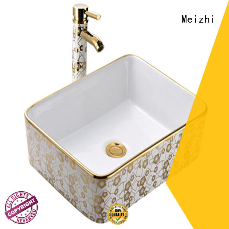 Meizhi fancy stylish wash basin manufacturer for bathroom