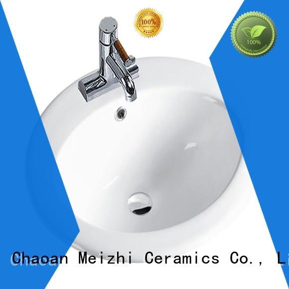 ceramic bathroom countertop basin directly sale for hotel