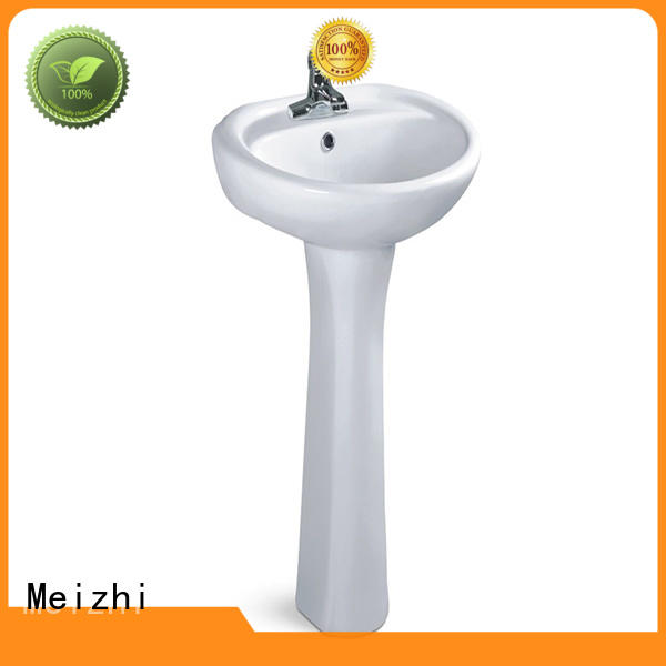 popular pedestal basin customized for bathroom