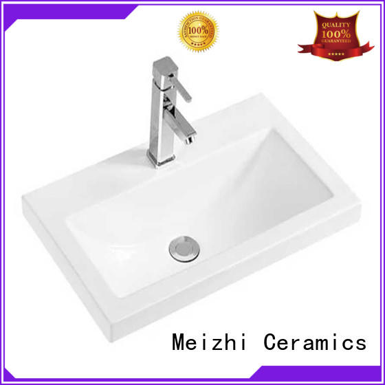 Meizhi high quality bathroom basins and cabinets with good price for hotel