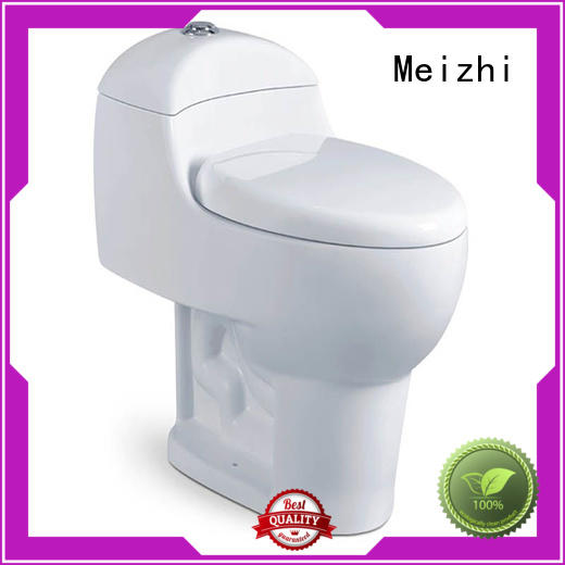 Meizhi siphonic best one piece toilet directly sale for bathroom