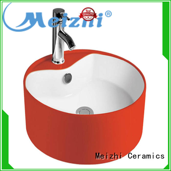 Meizhi gold gold wash basin directly sale for home