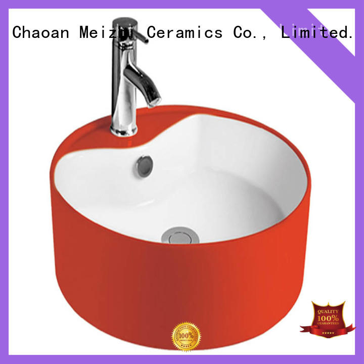 fancy toilet hand basin factory price for hotel