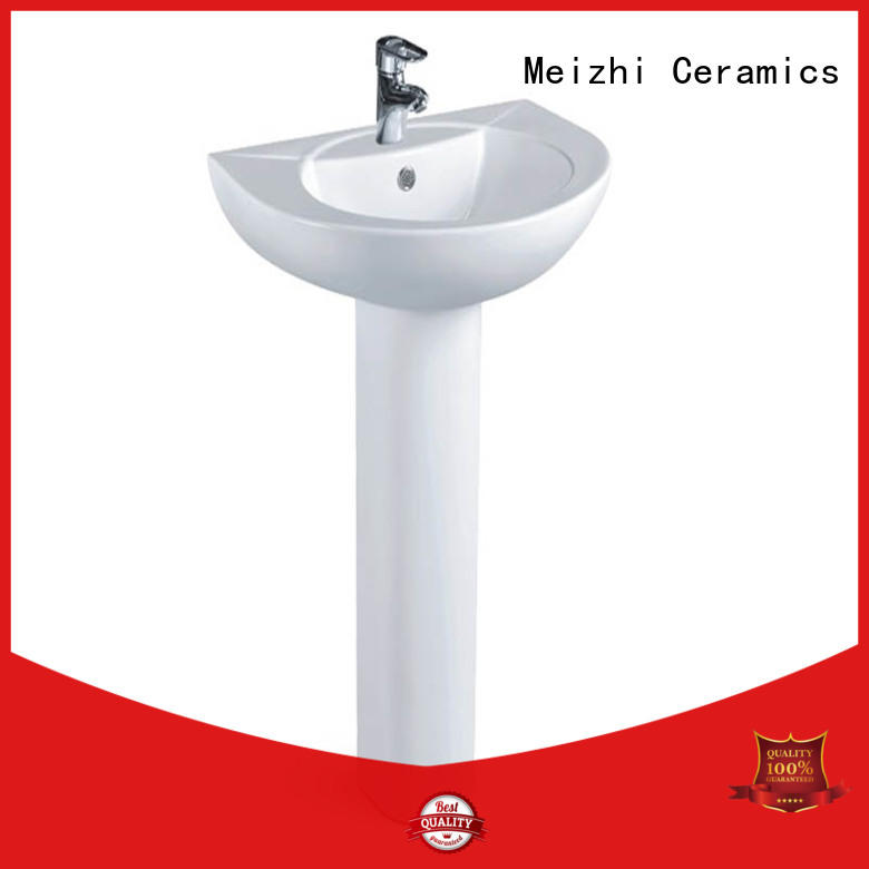 Meizhi vanity unit for pedestal sink wholesale for washroom