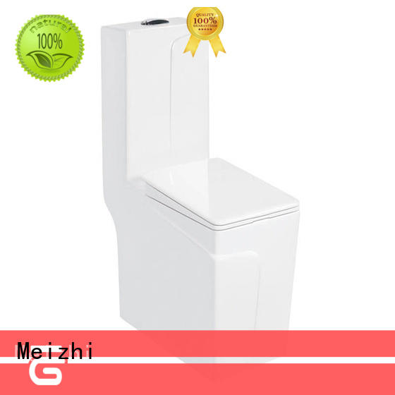 Meizhi colored one piece toilet directly sale for home
