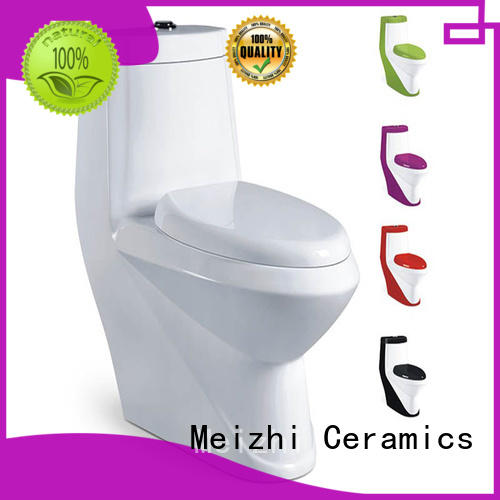 Meizhi one piece elongated toilet customized for home
