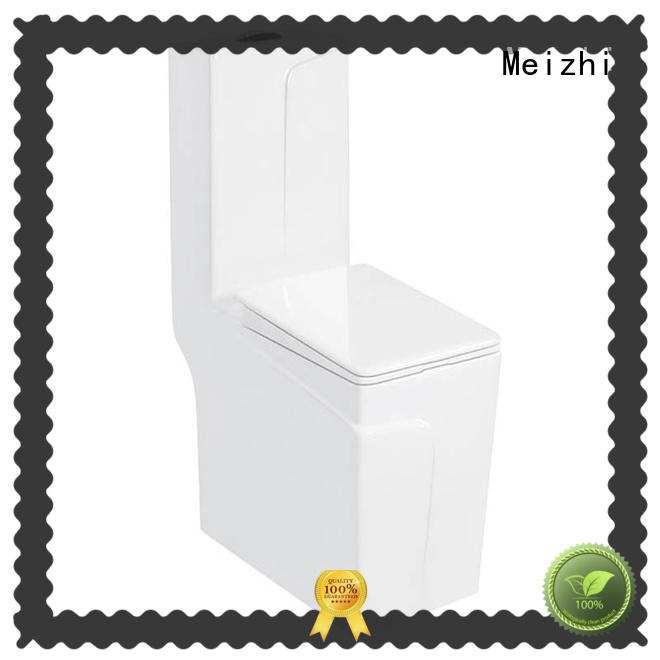 Meizhi colored american standard one piece toilet manufacturer for hotel