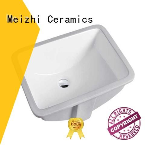 Meizhi popular counter top basin wholesale for washroom