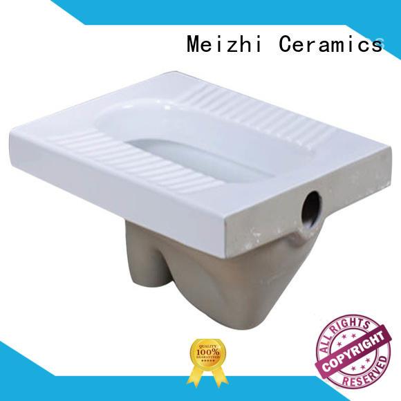 Meizhi squatting pan supplier for bathroom