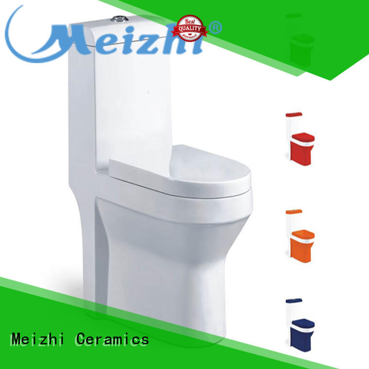 Meizhi modern water efficient toilets customized for home