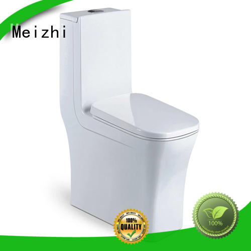 Meizhi one piece round toilet with good price for home