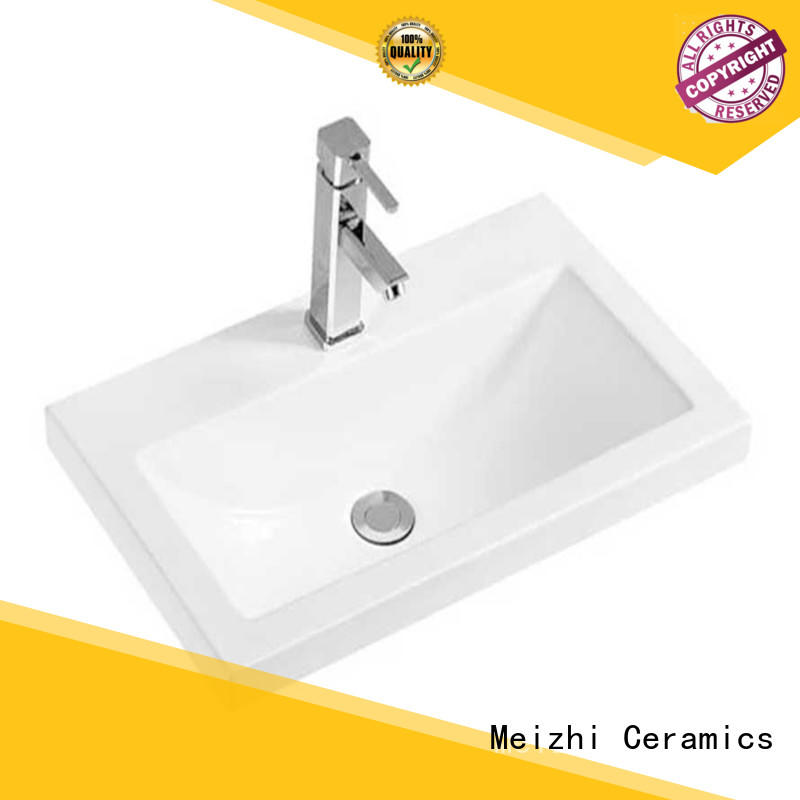 Meizhi ceramic hand wash basin with good price for hotel