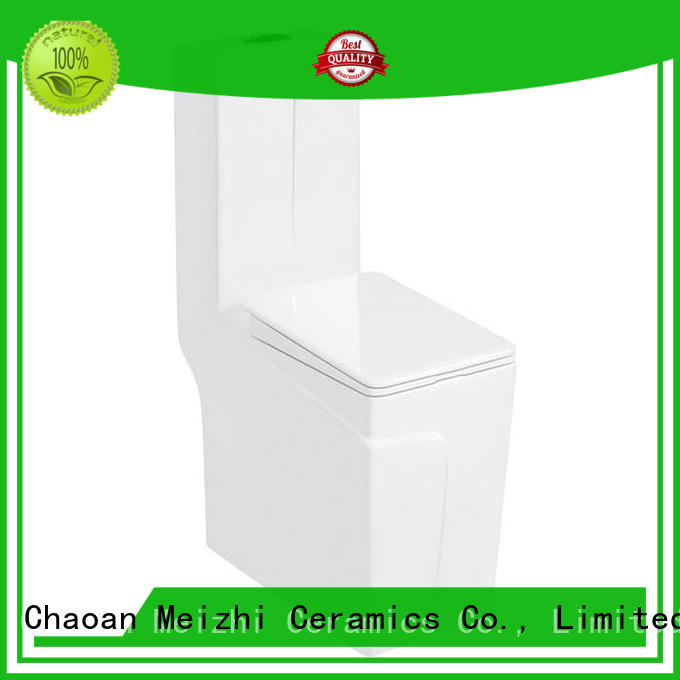 Meizhi ceramic one piece corner toilet supplier for home
