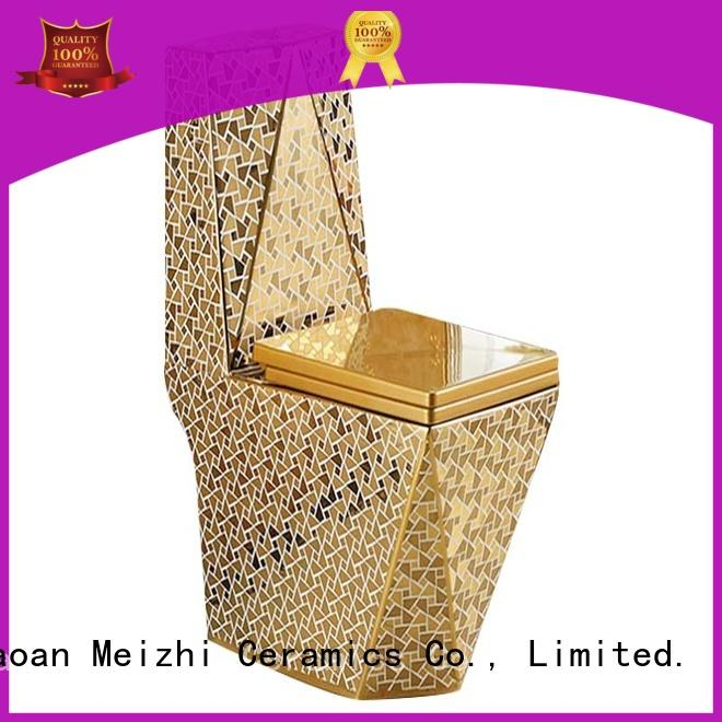Meizhi new design 1 piece toilet manufacturer for hotel