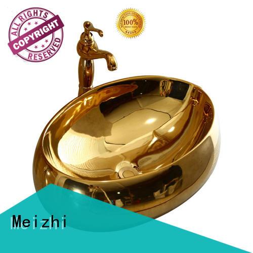 Meizhi elegant ceramic basin wholesale for hotel