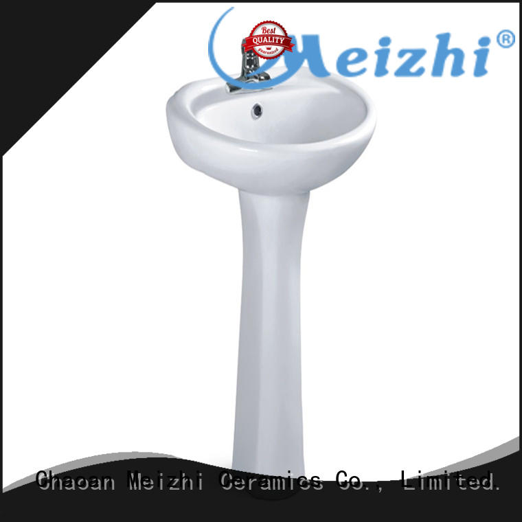 Meizhi full pedestal basin with good price for home