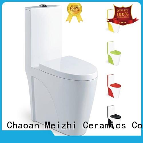 Meizhi new design water efficient toilets customized for bathroom
