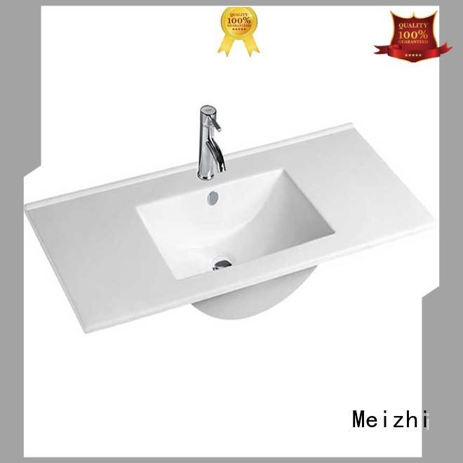 Meizhi wash basin designs with cabinet wholesale for washroom