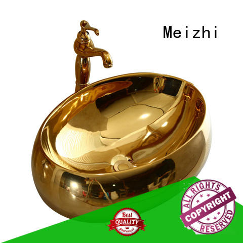 Meizhi printed sink basin directly sale for home