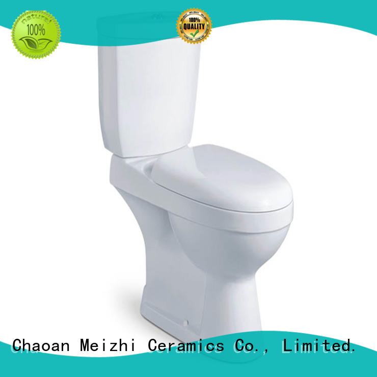 Meizhi modern toilets with buttons on top directly sale for bathroom